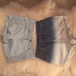 Two forever 21 shorts ask $10